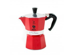 bialetti moka colour red 3 cup p348 501 image